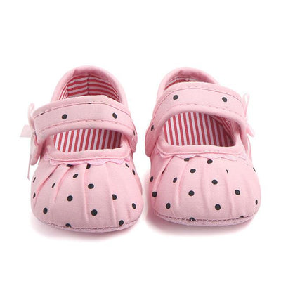 Cute Polka Dot First-Walkers