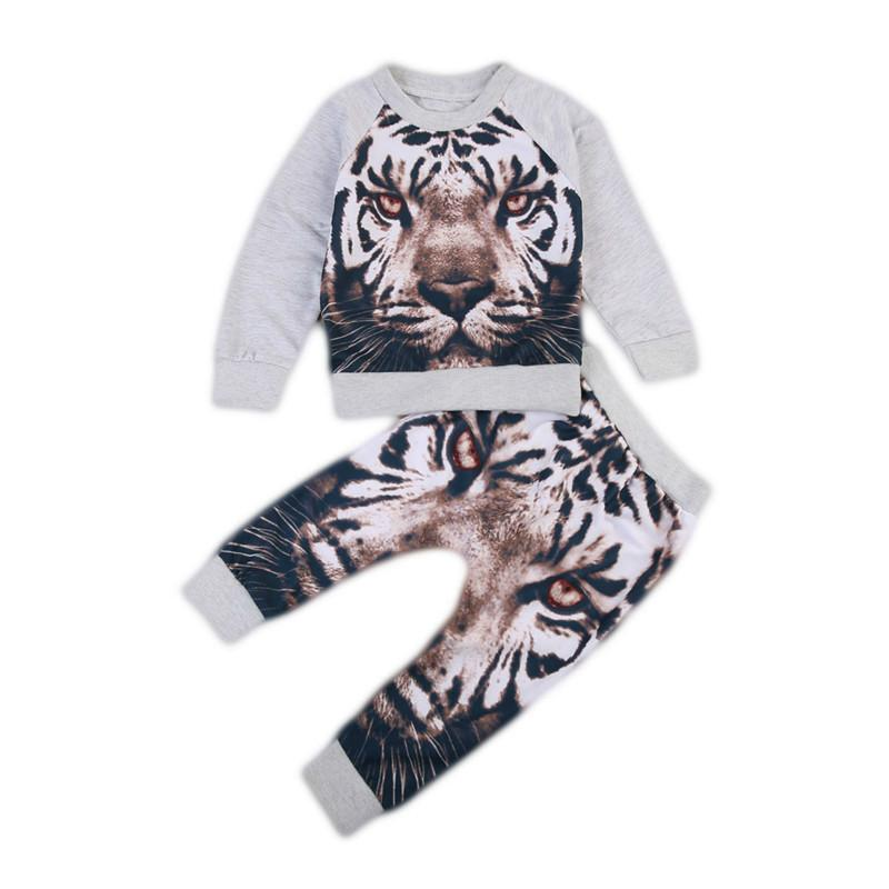 Lovely Tiger Printed Set