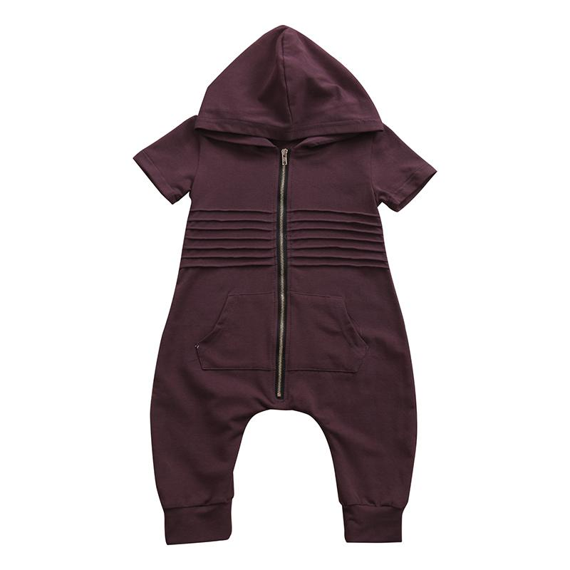 Fashion Hooded Loose Jumpsuit
