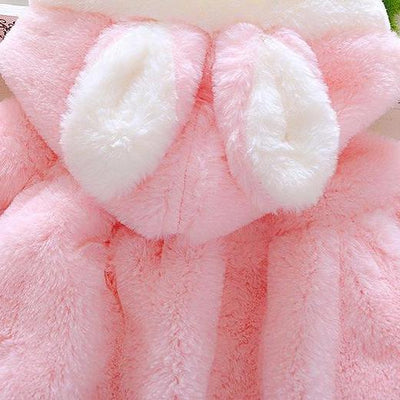 Soft Winter Bunny Coat