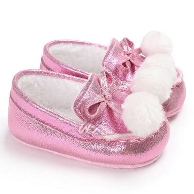 Lovely Soft Ball Moccasins