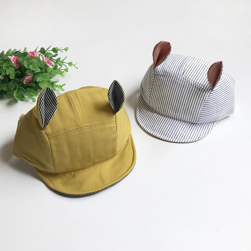 Cute Bunny Ears Summer Cap