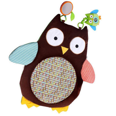 Soft Tummy Time Owl Mat
