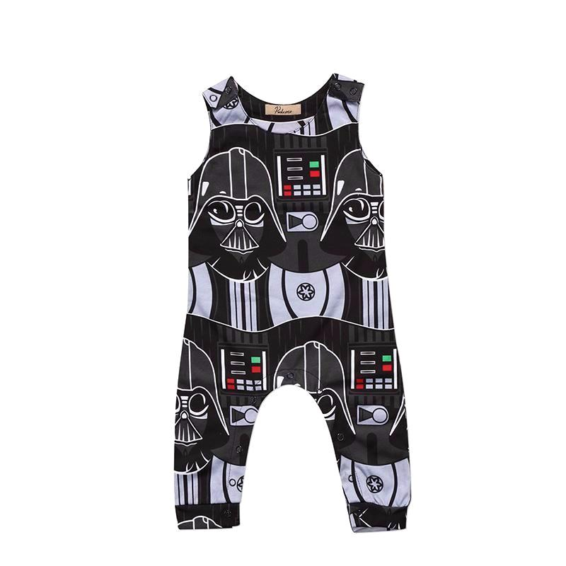 Sleeveless Darth Vader Jumpsuit