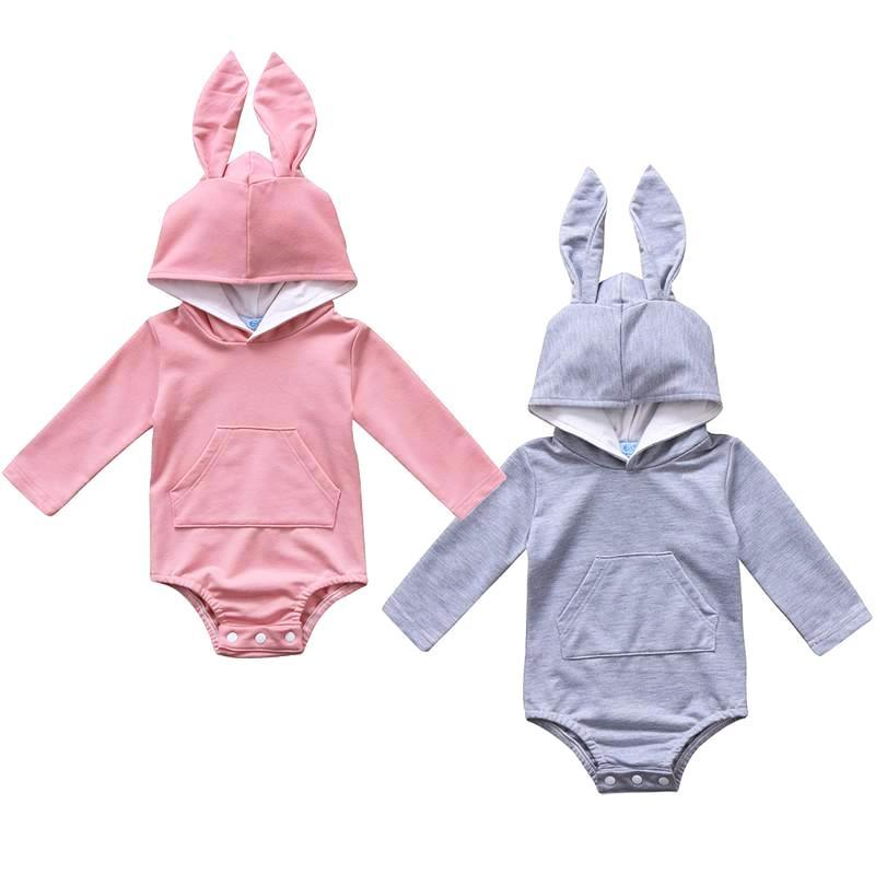 Cute Hooded Bunny Bodysuits
