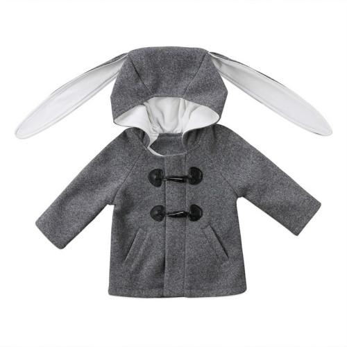 Adorable Hooded Bunny Coat