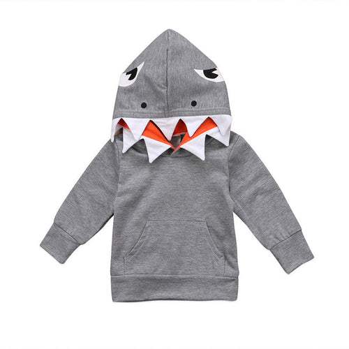 Lovely Casual Shark Hoodie