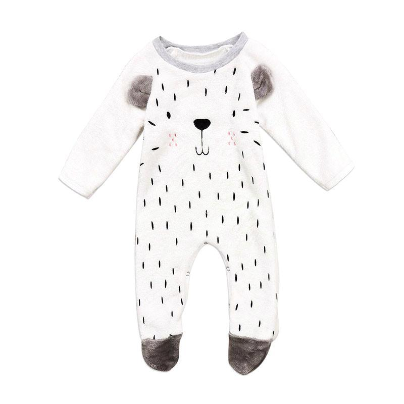 Lovely & Delicate Teddy Bear Footie