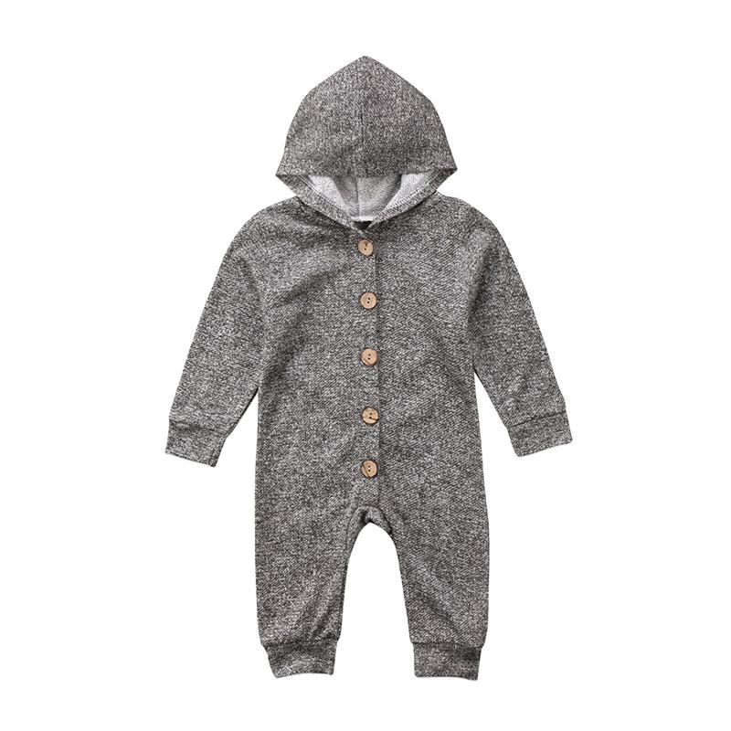 Soft & Cozy Hooded Winter Jumpsuit