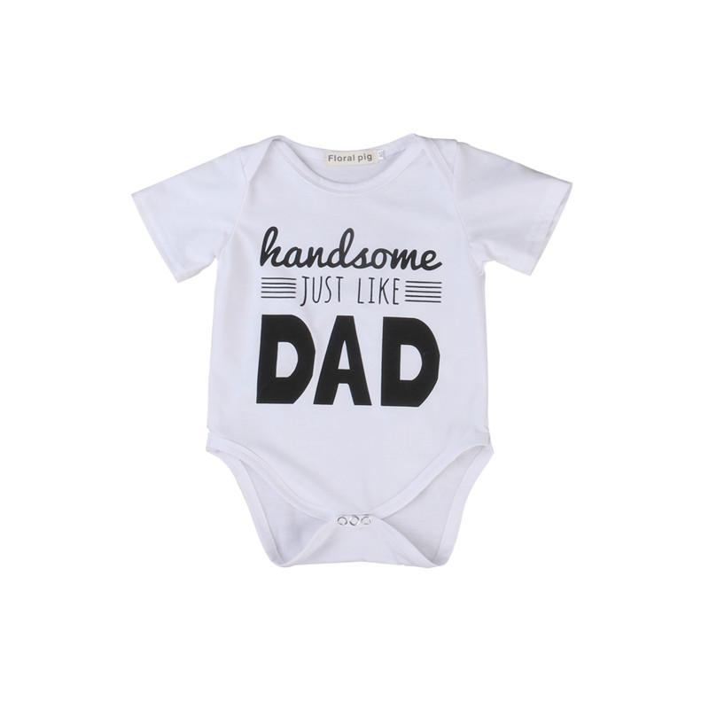 Handsome Like Dad Bodysuit