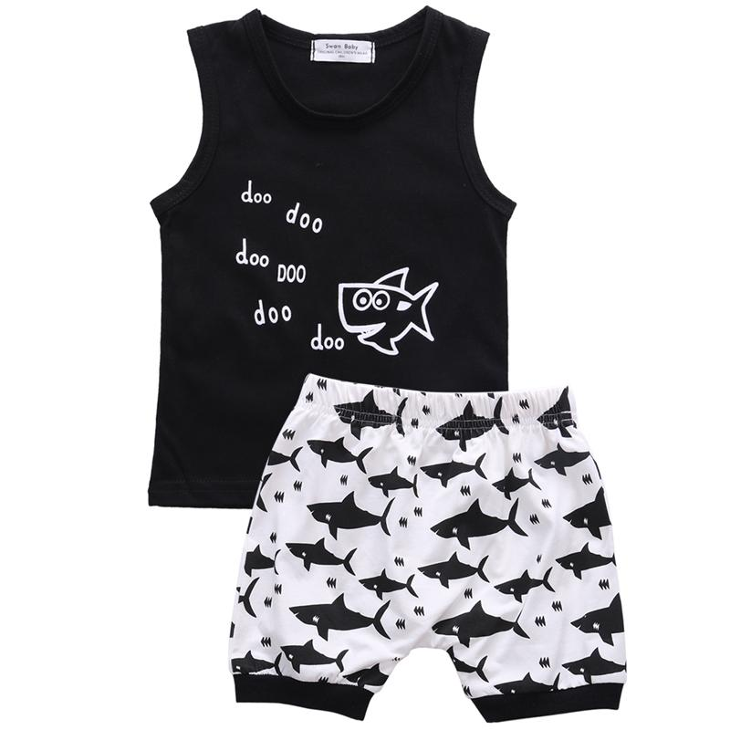 Sleeveless Summer Shark Outfit