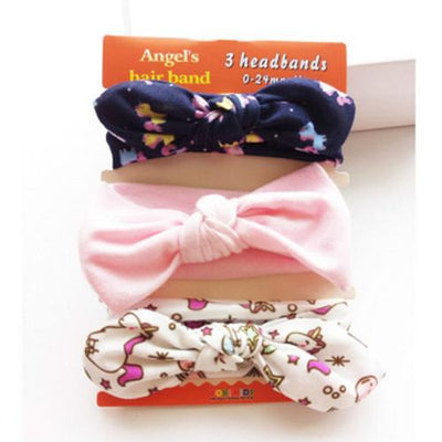 Elastic Bow Headbands Sets