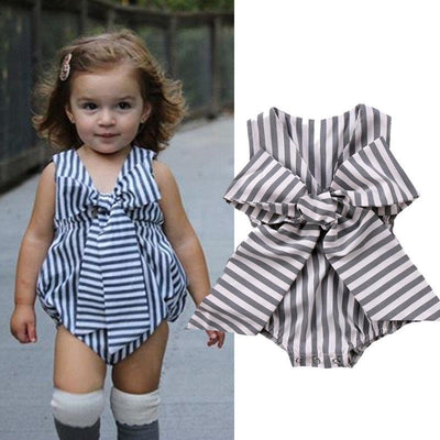 Adorable Striped Summer Romper