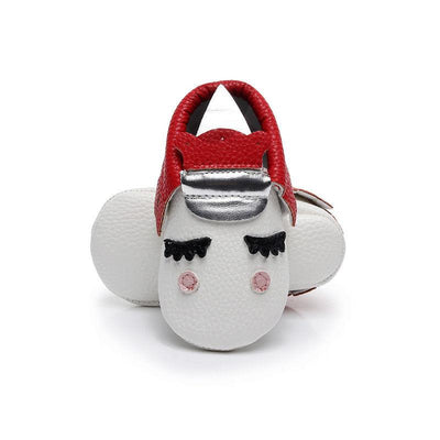 Adorable Sleepy Unicorn Moccasins