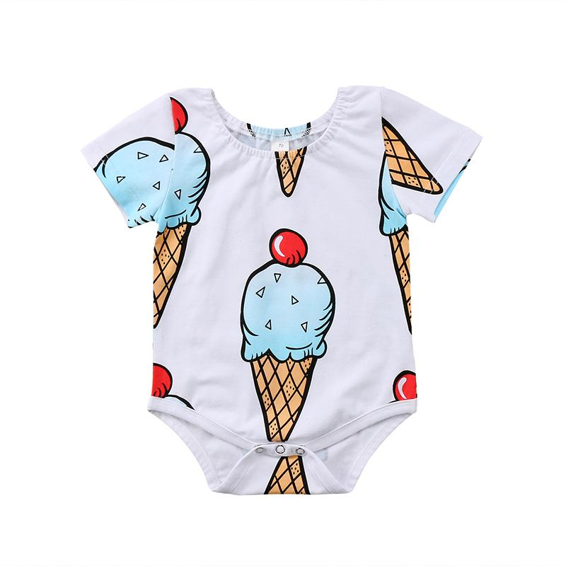 Cute Ice Cream Bodysuit