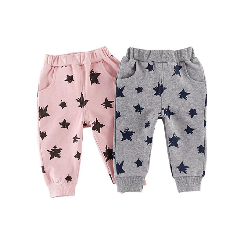 Casual Little Star Warm Pants