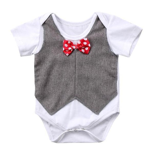 Adorable Bowtie Gentleman Bodysuit