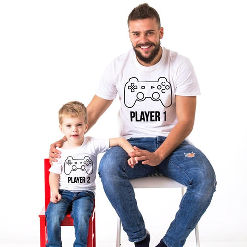 Player 1 & Player 2 T-Shirts