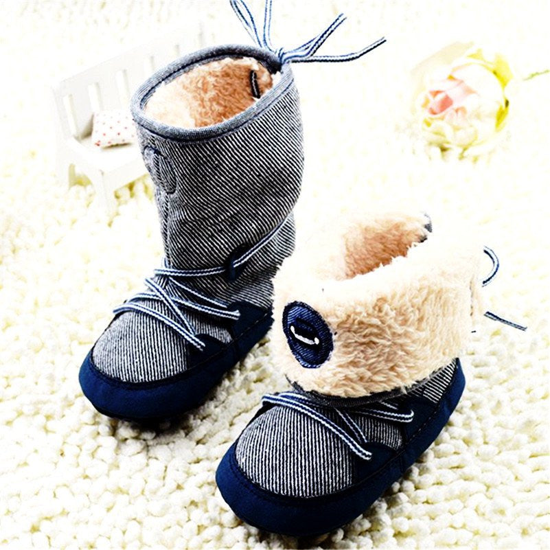 Delicate & Soft Winter Booties