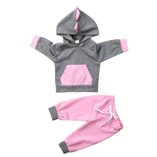 Lovely Hooded Dinosaur Set