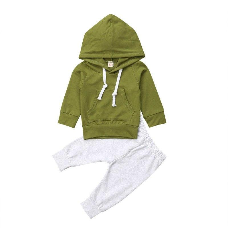 Fashion Hooded Set