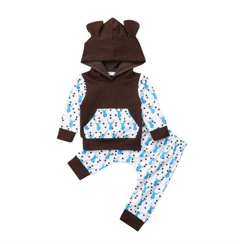 Fashion Hooded Deer Set
