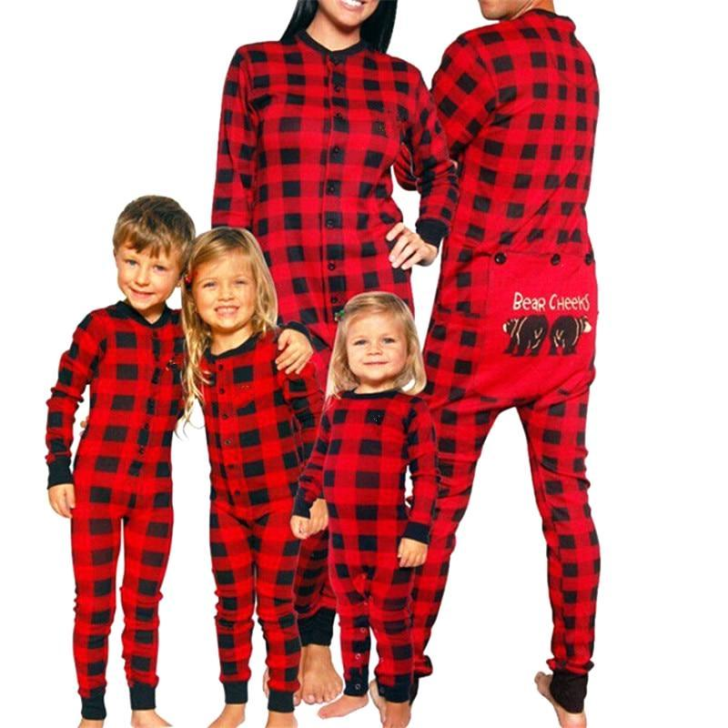 Family Matching Bear Cheers Pajamas