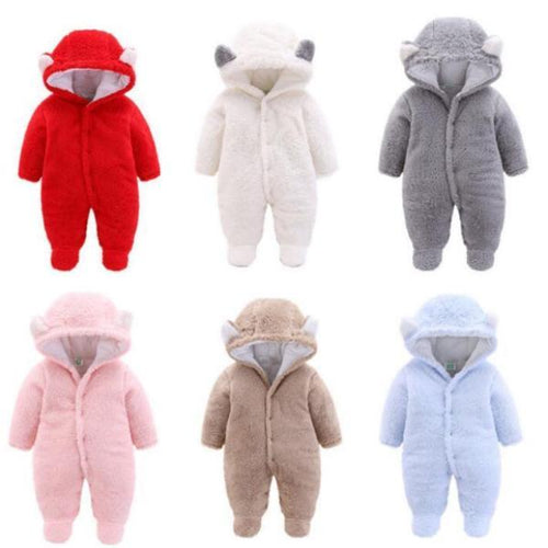Soft & Warm Hooded Animal Footies