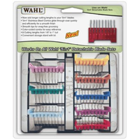 Wahl 5 in 1 Stainless Steel Attachment Guide Comb Set, Attachment Combs - Love Groomers
