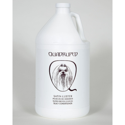 Quadruped Satin Luster Leave In Conditioner, Quadruped Conditioners - Love Groomers