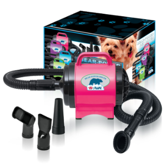 B-Air Bear Fido Max 1 Dryer Hot Pink, B-AIR DRYERS, Bair - Love Groomers