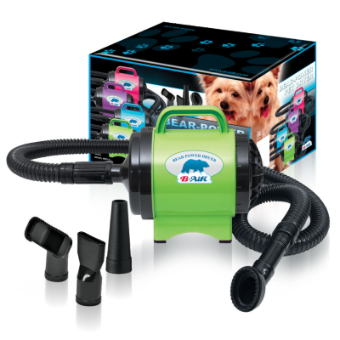 B-Air Bear Fido Max 1 Dryer Lime Green, B-AIR DRYERS, Bair - Love Groomers