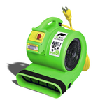 Grizzly 1 HP Etl Approved Dryer Air Green, B-AIR DRYERS, Love Groomers - Love Groomers