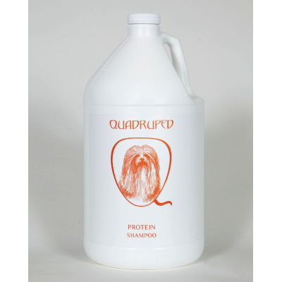Quadruped Protein Shampoo, Gallons of Quadruped Shampoo - Love Groomers