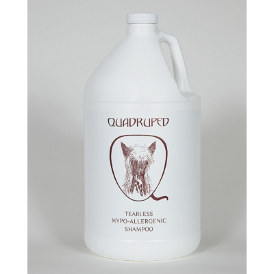 Quadruped Hypo-Allergenic Tearless Shampoo, Gallons of Quadruped Shampoo - Love Groomers