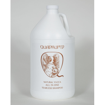 Quadruped All In One Tearless, Gallons of Quadruped Shampoo - Love Groomers