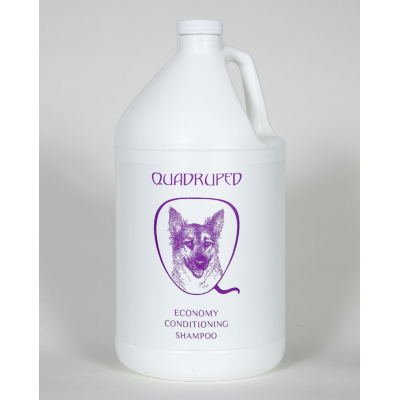 Quadruped Econ Conditioning Shampoo, Gallons of Quadruped Shampoo - Love Groomers
