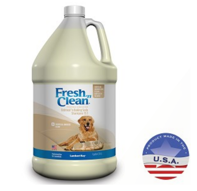 Lambert Kay Fresh N Clean Oatmeal and Baking Soda Shampoo 15:1 Concentrate - Tropical Breeze Scent, Lambert Kay Shampoo - Love Groomers