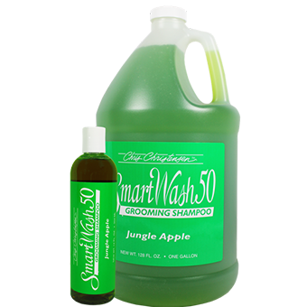 Chris Christensen SmartWash 50 Jungle Apple Grooming Shampoo, Chris Christensen Shampoos, Chris Christensen - Love Groomers