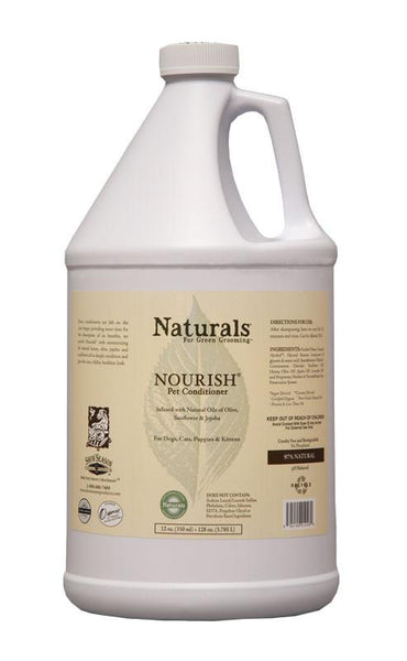 ShowSeason Naturals Nourish Conditioner- Gallon, Show Season Conditioner - Love Groomers