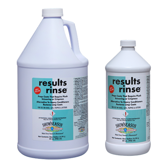 ShowSeason Results Rinse®, Show Season Conditioner - Love Groomers