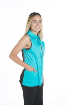 Alexis Grooming Vest - StretchFit Turquoise, Angels Grooming Apparel, Love Groomers - Love Groomers