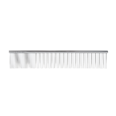 Utsumi Stainless Quarter Comb 7.5 inch 25/75, Utsumi Combs - Love Groomers