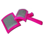 "Franks Silky Smooth Slicker Brush L Pin Pad Size 3 1/4"" x 2"", Slicker Brush, Love Groomers - Love Groomers"
