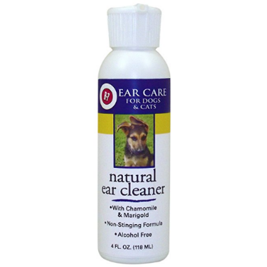 Miracle Care All Natural Ear Cleaner, 4-Ounce, Ear Care - Love Groomers