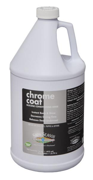 ShowSeason Chrome Coat Silicone Conditioning Rinse, Show Season Conditioner - Love Groomers