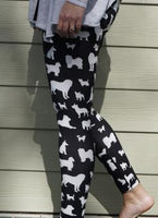 CPC Dog Pattern Leggings, CPC Leggings, Continental Pet Company - Love Groomers