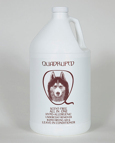 Quadruped Scent Free Hypo-Allergenic All in One Conditioner, Quadruped Conditioners - Love Groomers