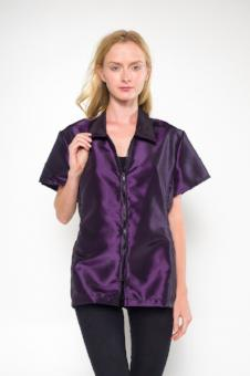 Chloe Grooming Jacket - Solid Purple, Angels Grooming Apparel - Love Groomers