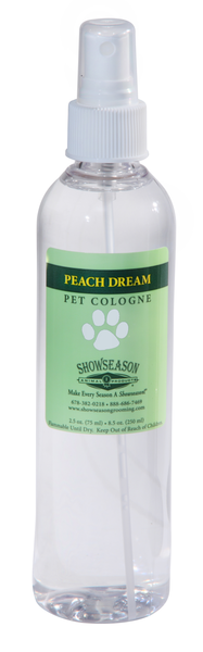 Showseason® Peach Dream Cologne 8.5 oz., Show Season Cologne - Love Groomers